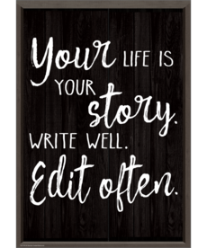 Your Life is Your Story Postive Poster