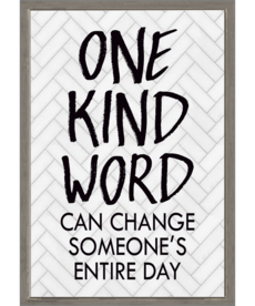 One Kind Word Can Change Positive Poster