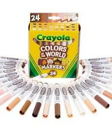 Crayola Colors of the World Markers