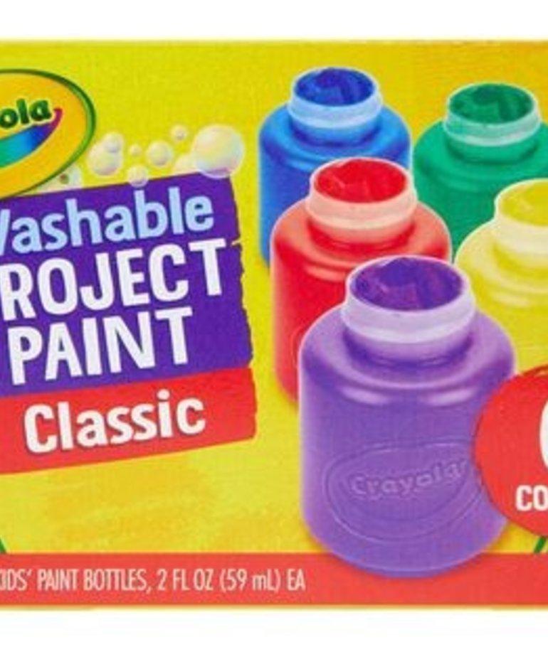 Crayola Kids Washable Paint 6ct 2oz