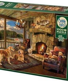 Cobble Hill Lakeside Cabin 1000pc