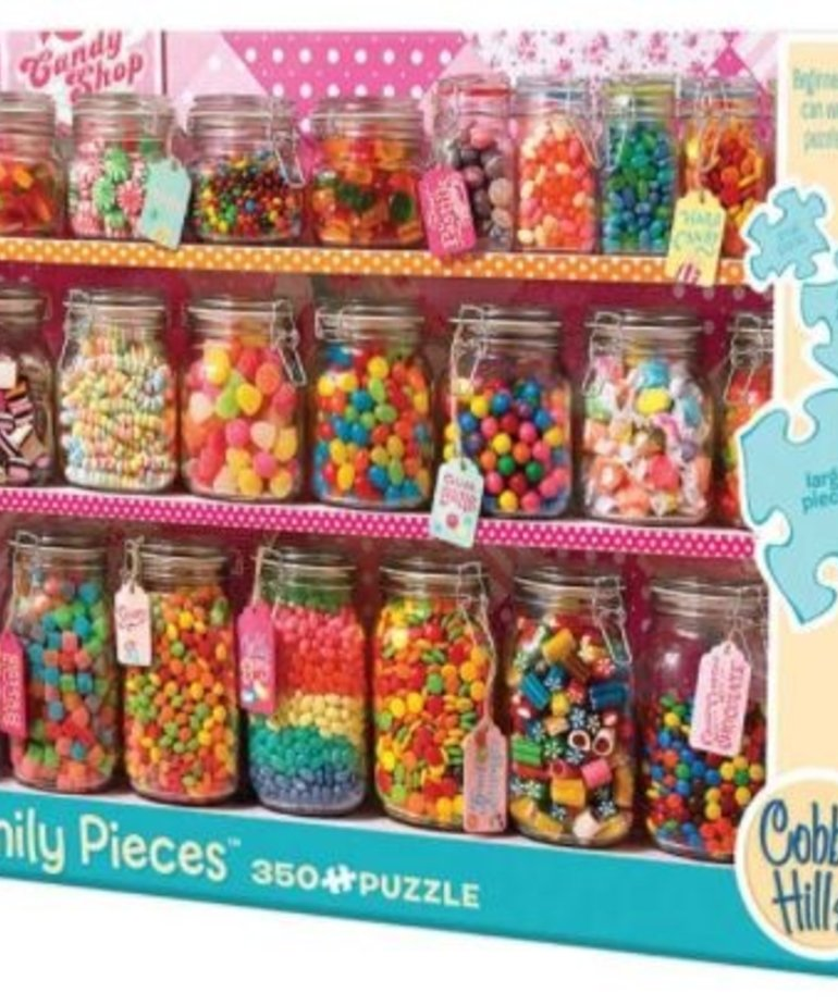 Cobble Hill Candy Counter Family Puzzle 350pc