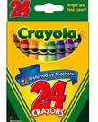 Crayola Crayons 24pc