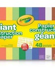 Crayola Giant Construction Paper w/Stencil