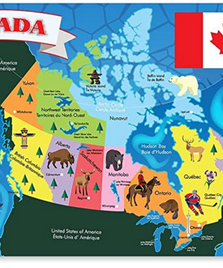 Canada Floor Puzzle (48 PC)