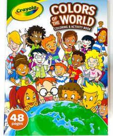 Crayola Colors of the World Coloring & Activity Book
