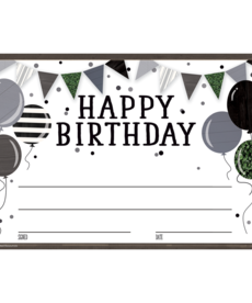 Modern Farmhouse Happy Birthday Awards