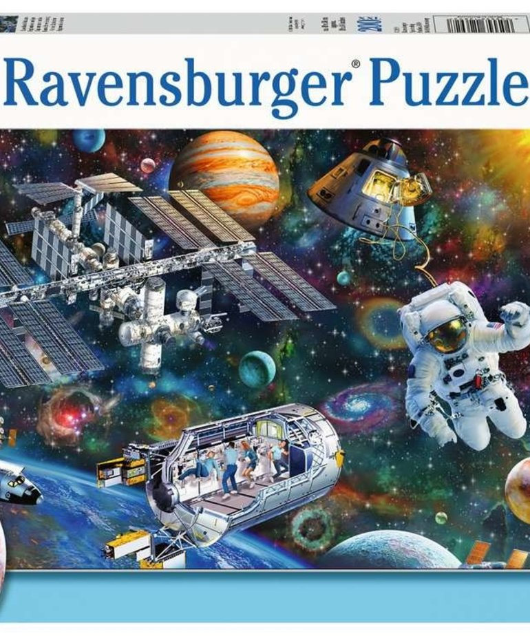 Ravensburger Cosmic Exploration 200pc Puzzle