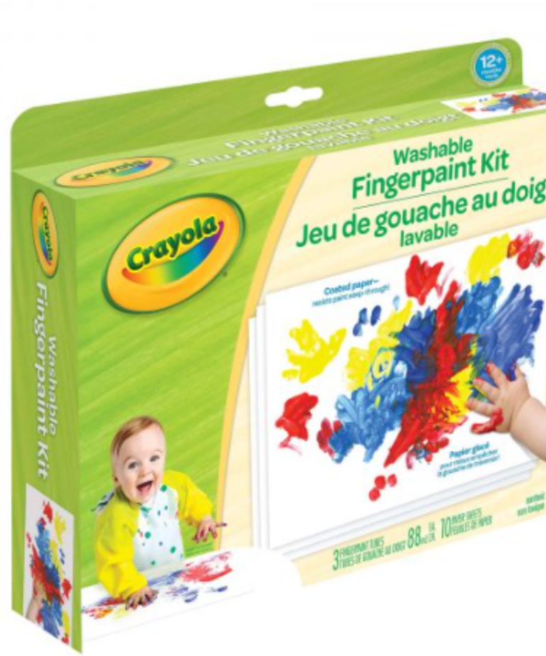 Crayola Fingerpaint Kits