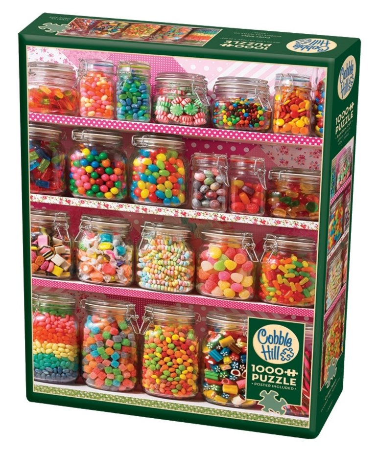 Cobble Hill Candy Shelf 1000pc Puzzle