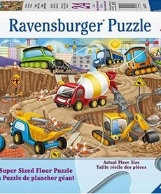 Ravensburger Construction Fun 24pc Floor Puzzle