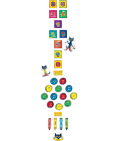 Pete the Cat Numbers & Colors Sensory Path