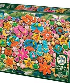 Cobble Hill Tropical Cookies 1000pc Puzzle