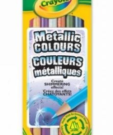 Crayola Metallic Pencil Crayons(8 pack)