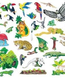 Rainforest Animals Felt Set