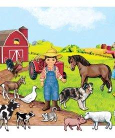 Farm Felt Set with Board