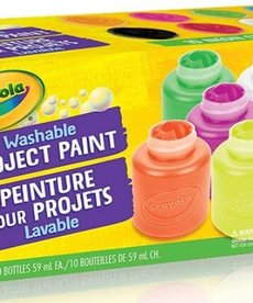 Washable Project Paint 10ct Neon