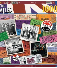Ravensburger The Beatles Tickets 1000pc Puzzle