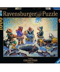 Ravensburger Ice Fishing 1000pc Puzzle