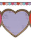Home Sweet Classroom Hearts DIe Cut Border