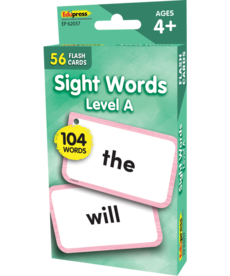 Sight Word Flash Cards- Level A