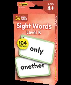 Sight Words Flash Cards- Level B