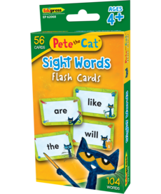 Pete the Cat Sight Words Flash Cards