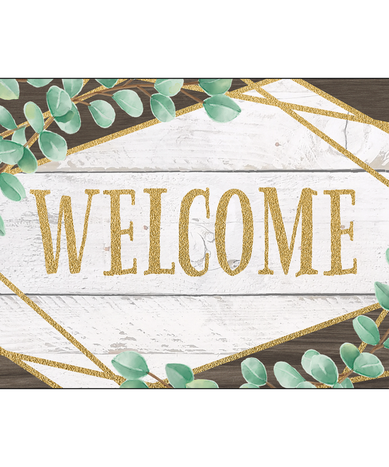 Eucalyptus Welcome Cards