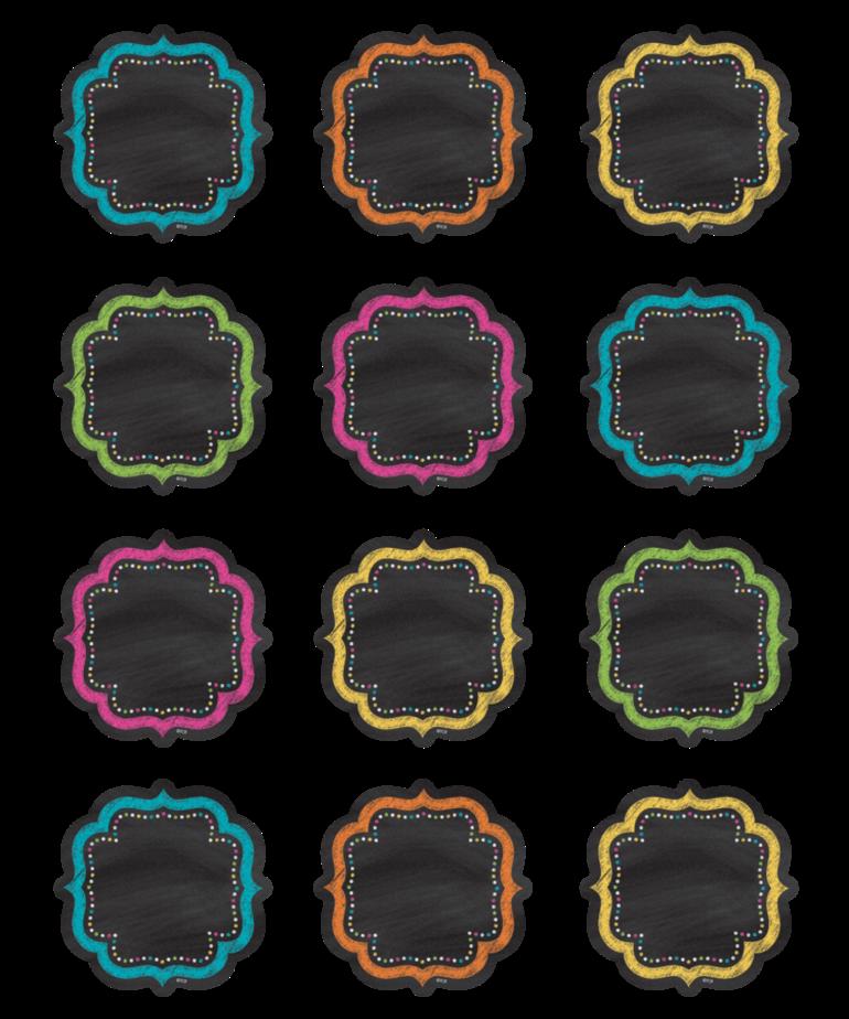 Chalkboard Brights Mini Accents