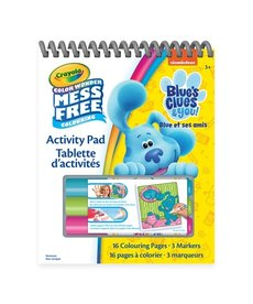 Crayola Color Wonder Activity Pad - Blues Clues