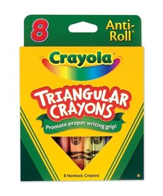 Crayola Triangular Crayons(8 pack)