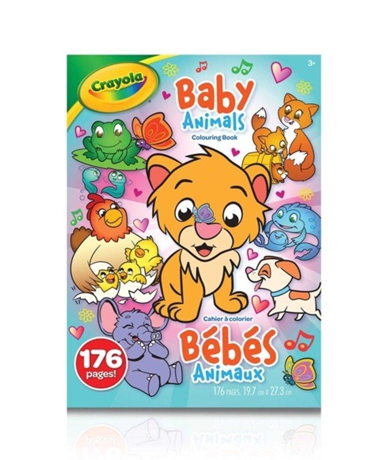 Crayola Baby Animals Colouring Book