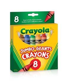 Crayola Jumbo Crayons 8 pack