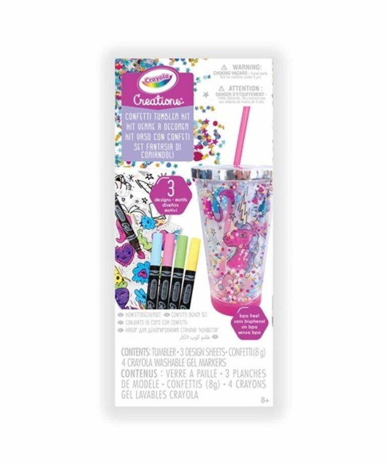 Crayola Confetti Tumbler Kit