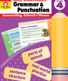 Skill Sharpeners Grammar& Punctuation-Gr. 4