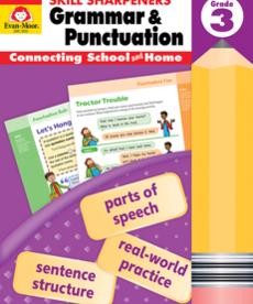 Skill Sharpeners Grammar & Punctuation-Gr.3