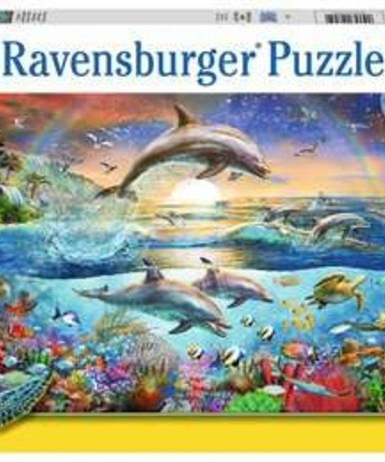 Ravensburger Dolphin Paradise 300pc Puzzle