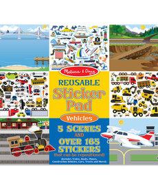 Melissa & Doug Reusable Sticker Pad Vehicles