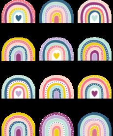 Oh Happy Day Rainbow Mini Accents