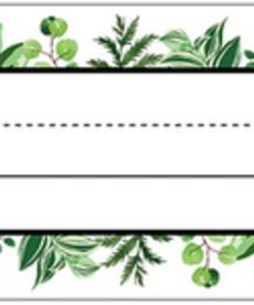 Simply Boho Leaves Nameplates