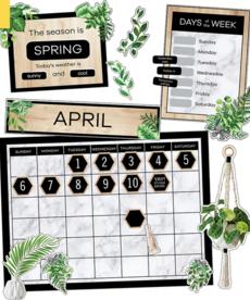 Simply Boho Calendar
