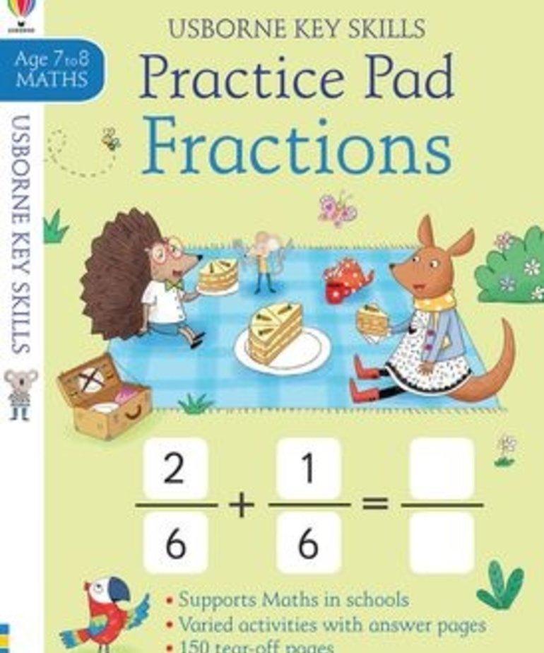 Fractions Practice Book