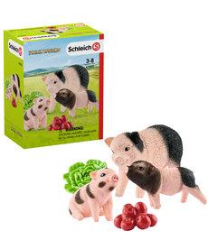 Schleich Mother Pig with Piglets