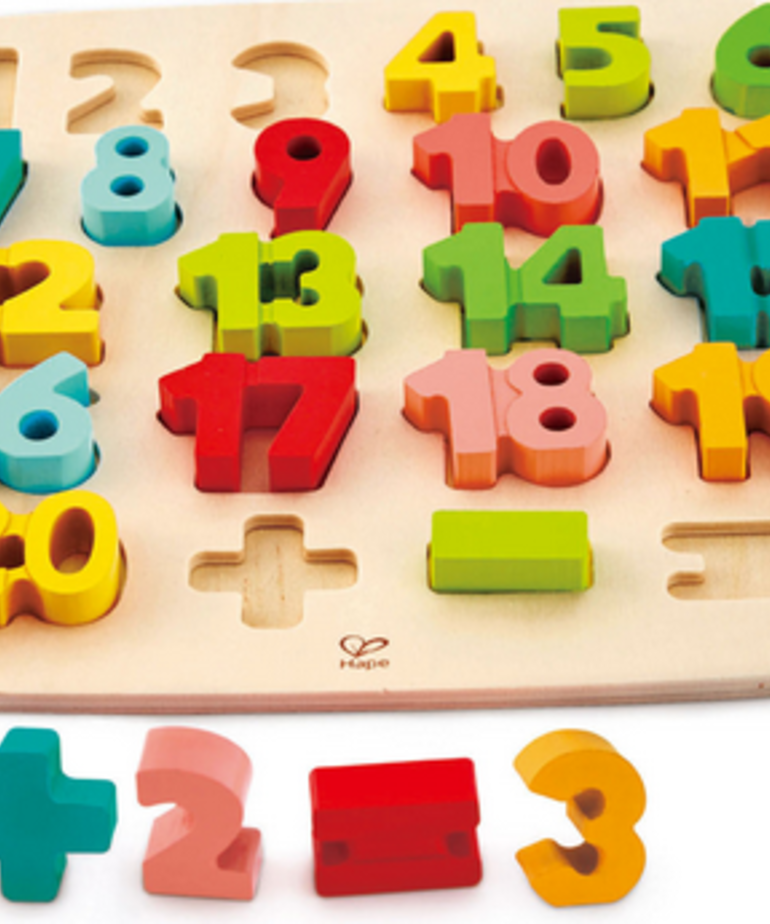 Hape Chunky Numbers Puzzle
