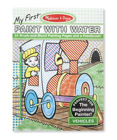 Melissa & Doug Paint With Water-Vehicles