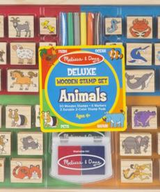Melissa & Doug Deluxe Stamp Set-Animals