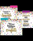 Confetti File Folders