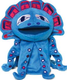 Magic the Octopus Puppet