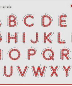 Magnatab Uppercase Alphabet