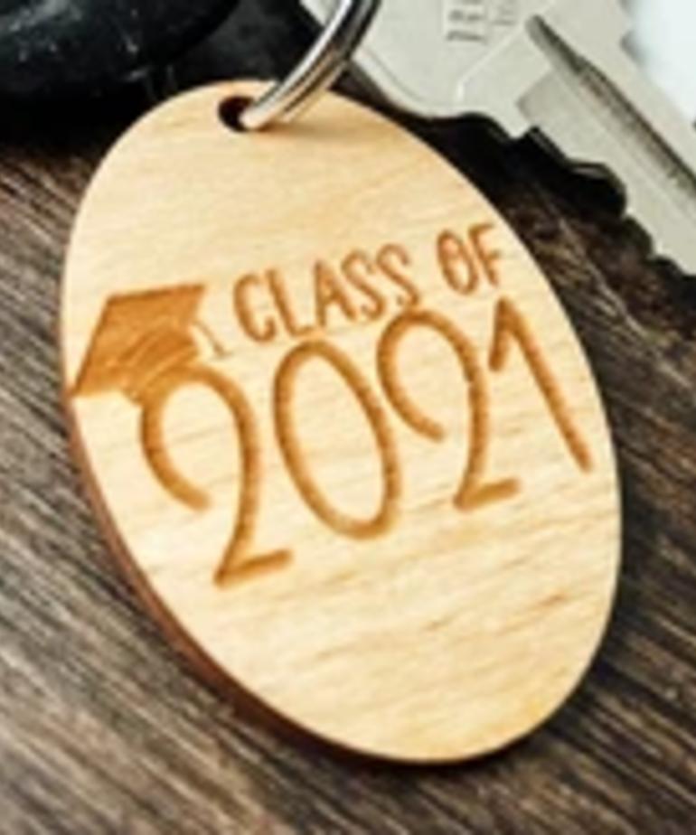 Class of 2021 Keychain